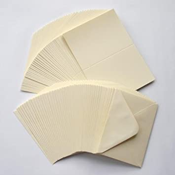 Craft uk blank greeting cards envelopes 5 x 7 inch ivory colour m4hsunfo