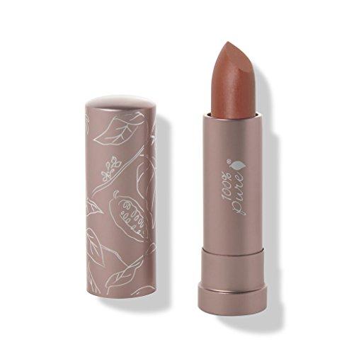 100% Pure Cocoa Butter Matte Lipstick, Mojave, 0.15 Ounce ()