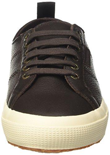 Superga 2750 – Sneaker Chocolate Adulto a Dk Brown Basso Unisex fglu Collo pHdrqnOpw