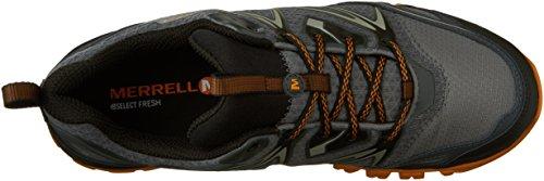 Merrell Men's Capra Bolt Waterproof Hiking Shoe, Grey/Orange, 9.5 M US by Merrell (Image #8)