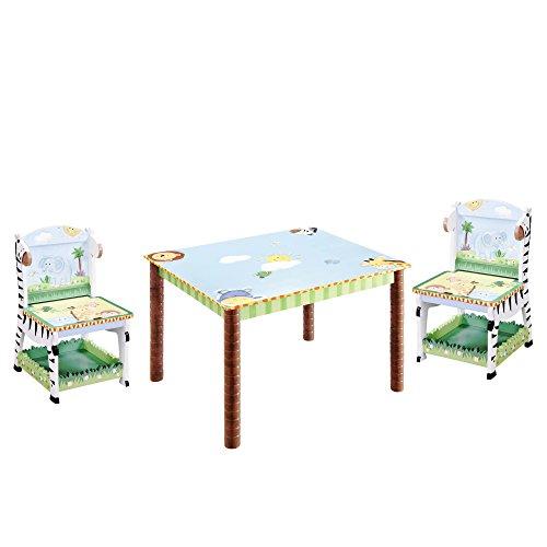 Cheap Sunny Safari Kids 3 Piece Table and Chair Set