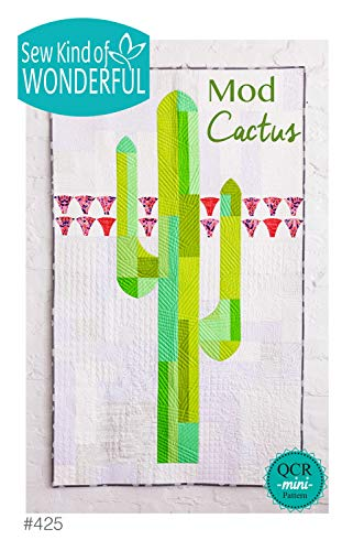 (Mod Cactus Quilt Pattern by Sew Kind of Wonderful SKW425)