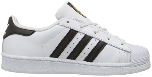 adidas Originals Kinder Superstar Foundation EL C Sneaker Weiß / Schwarz / Weiß