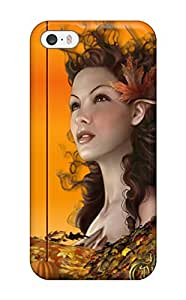 Fashion Protective Artistic Shades Of Fall Case Cover For Iphone 5/5s