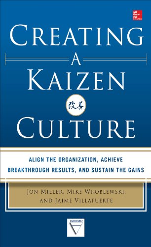 Creating a Kaizen Culture: Align the Organization, Achieve Breakthrough Results, and Sustain the Gains Pdf