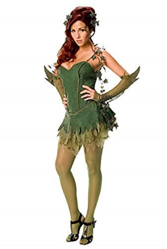 Secret Wishes Batman Poison Ivy Costume, Green, Medium
