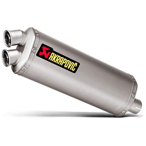 Akrapovic 16-18 Honda CRF1000L Slip-On Exhaust (Race/Titanium) ()