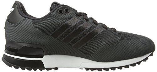 adidas Herren ZX 750 WV Low-Top Schwarz (Black (Shadow Black/Core Black/Ftwr White)Shadow Black/Core Black/Ftwr White)