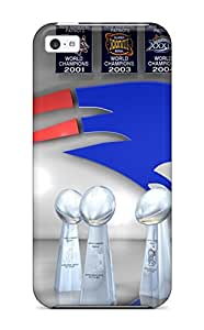 Forever Collectibles New England Patriots Hard Snap-on Iphone 5c Case