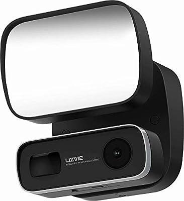 Floodlight Camera Motion Light Outdoor Camera Spotlight Camera Led Light Monitor Sensor Motion-activated Hd Video Siren Alarm Wireless Two Way Audio Smart Flood Light For Home Security System
