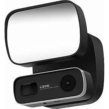 Amazon.com : Floodlight Camera Motion Light Outdoor Camera ...