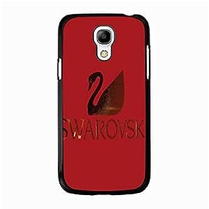 Red Classic Visual Swarovski Logo Phone Case Protective Case Cover for Samsung Galaxy S4 Mini Luxury Swarovski Logo