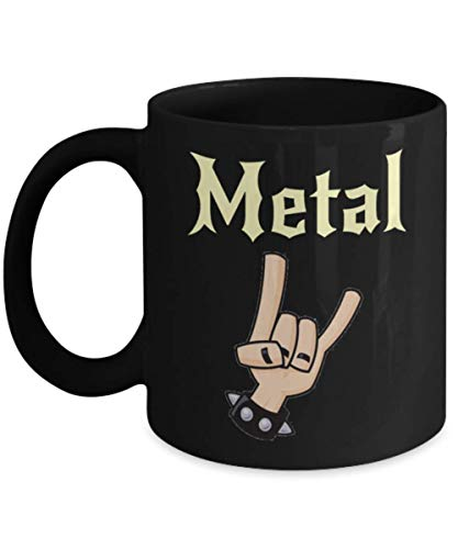 Metal Music Gift For Metal Music Lovers Mug Halloween Boo Booyah Ghosts Mug, Gift Dad for Father's day Daddy, Gift Idea for Women and Mother, Gift for ()
