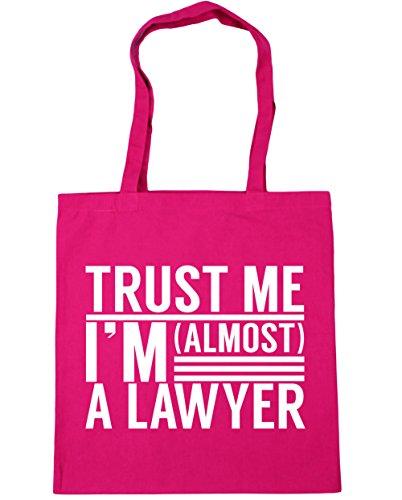 litres Tote x38cm I'm Fuchsia HippoWarehouse Gym Beach Shopping Lawyer Trust a me 10 42cm Bag almost wwY7C6q