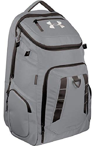 f856670196 Under Armour UASB-UPBP Graphite Undeniable Pro Baseball Softball Backpack  Bag