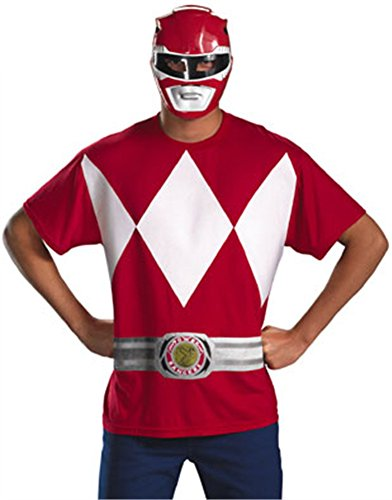 Power Rangers Samurai Halloween Costumes (Red Ranger Adult Costume -)