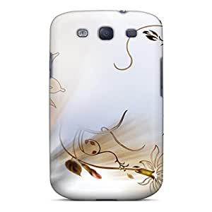 Galaxy S3 Hard Back With Bumper Silicone Gel Tpu Case Cover An Air Of Sophistication