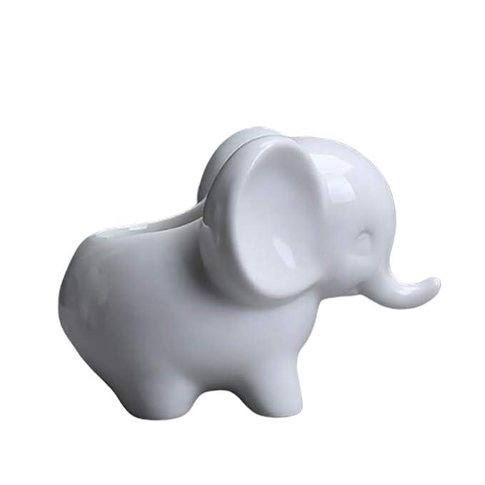 Toyvian Maceta De Elefante De Cerámica Macetas Suc...