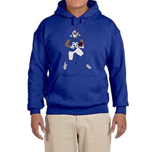 - Tobin Clothing Blue New York Saquon Running Hooded Sweatshirt Adult 2XL