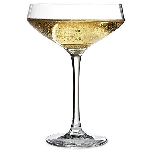 Cabernet Coupe Champagne Saucers 10.6oz / 300ml - Set of 6 | Champagne Glasses by Chef & Sommelier