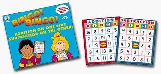 Carson-Dellosa Addition - Subtraction Bingo Carson Dellosa Addition Bingo