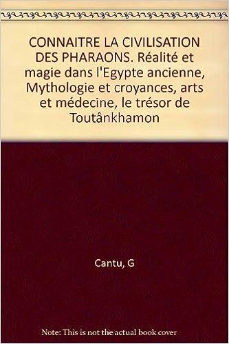 Livre gratuits Connaître la civilisation des pharaons pdf