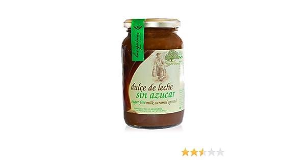 Amazon.com : Milk Caramel Free Sugar From Argentine brand las Quinas 15.87 oz. Bottle Dulce de leche sin Azucar Argentino Las Quinas (free sugar) : Grocery ...
