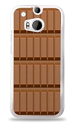 Amazon.com: Barra de chocolate blanco Carcasa para HTC One M8