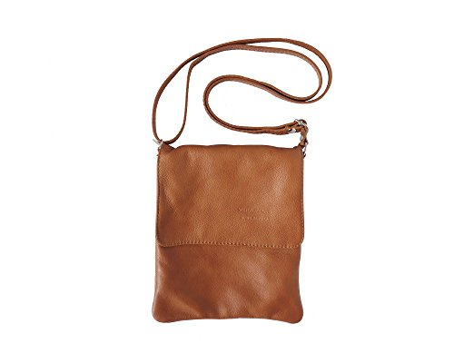 Tan Leather Womens Mini - LaGaksta Ashley Very Small Crossbody Bag Leather Tan