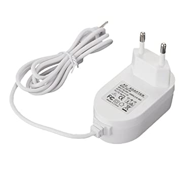 Cargador Adaptador Europeo UE 2.5mm 12V/2A para Tablet PC ...