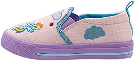 cfcce4a1a2081 My Little Pony Pink Slip On Sneakers for Girls; Fun Character Girls ...