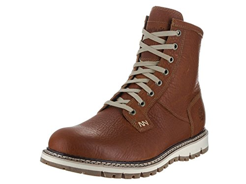 Timberland Mens Britton Hill Waterproof Plain Toe Boot, Anaranjado, 44 D(M) EU/9.5 D(M) UK