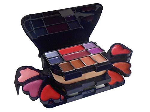 VBA A.D.S Color Series Makeup Kit (8 Eyeshadow, 1 Power Cake, 8 Lip Color, 2 Blusher)