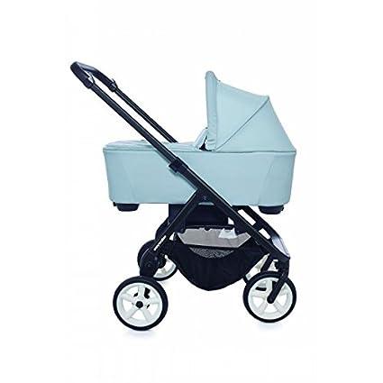 Duo Mini Stroller Ice Blue. chasis New black con rueda ...