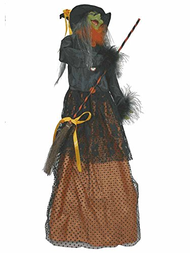Animated Halloween Witch Prop [42725A] ()