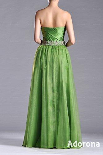 Special A Natrual Dress Occasion Evening line Floor Length Organza Grape Adorona Purple Strapless w50xXqTwv