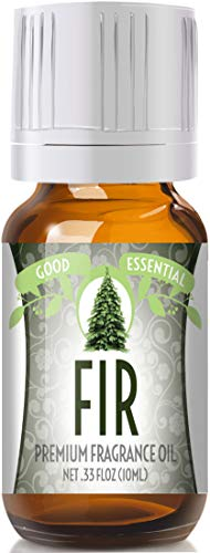 Fir Scented Oil by Good Essential (Premium Grade Fragrance Oil) - Perfect for Aromatherapy, Soaps, Candles, Slime, Lotions, and More!