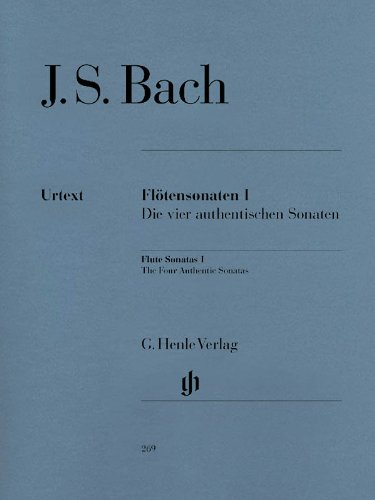Bach: Flute Sonatas - Volume 1 (The Four Authentic Sonatas)