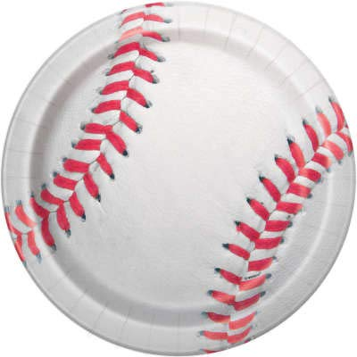 Baseball Theme Party Supplies Set - Plates, Cups, Napkins, Tablecloth Decoration (Serves 16) by Baseball (Image #3)