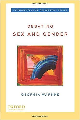 Debating sex and gender free ebook