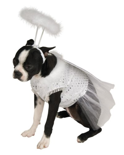 Rubie's Angel Pet Costume, Large -