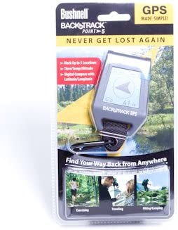 Bushnell Backtrack Point-5 Personal GPS Locator Gray
