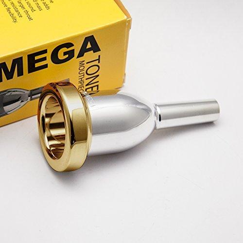 Bach 18 24K Gold Rim & Cup Tuba/Sousaphone Megatone Mouthpiece