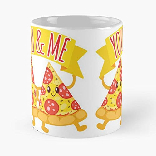 Pizza Lovers Lover Is Life - Handmade Funny 11oz Mug Best Birthday Gifts For Men Women Friends Work Great Holidays Day Gift