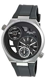 Kenneth Cole KC1683 - Reloj de pulsera para Hombre, negro