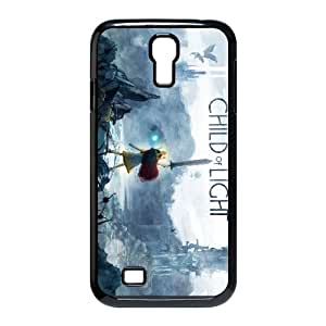 Samsung Galaxy S4 9500 Cell Phone Case Black_Child of Light_010 Iswle