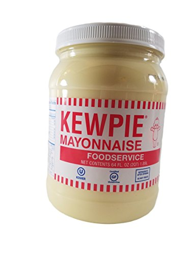 Japanese Kewpie Mayonnaise - 1/2 Gallon, Creamy Japanese Mayo - Mayo Jar Costume