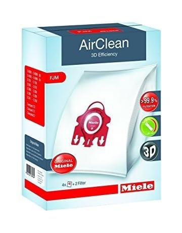 Miele Genuine Vacuum Cleaner AirClean Dust Bags Type FJM