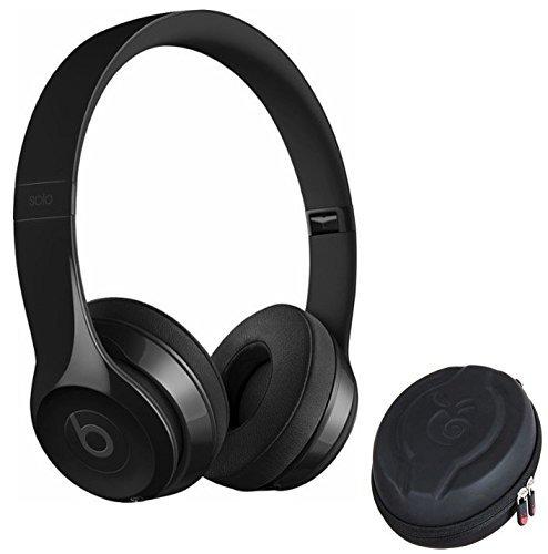 Beats Solo 3 wireless headphone and Premium Protective Case (GLOSS BLACK)