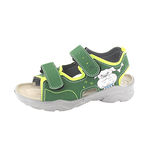 RICOSTA SURF 6028500/785 Unisex - bambino Sandali, Verde 34 EU